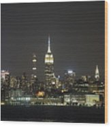 I'll Have A Manhattan To Go Wood Print