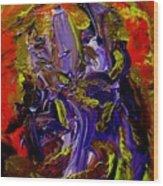 Ill Iris Wood Print