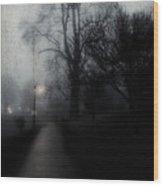 I'll Walk With You Tonite Wood Print