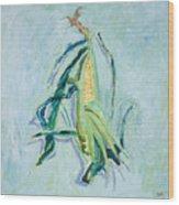 Illinois Corn Wood Print