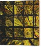 Illiusion 01 Wood Print