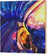 Illuminate Abstract  Wood Print