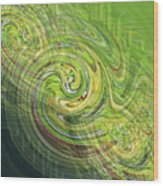 Illusion No. 1 Wood Print