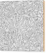 Illusory Wood Print