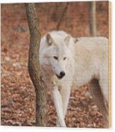 I'm A Wolf Wood Print