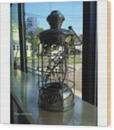 Image Included In Queen The Novel - Lantern In Window 19of74 Enhanced Poster Wood Print