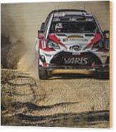 imagejunky_KB - RallyRACC WRC Spain - Esapekka Lappi / Janne Ferm Wood Print