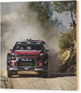 imagejunky_KB - RallyRACC WRC Spain - Lefebvre / Patterson Wood Print
