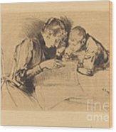 Images (les Images) Wood Print
