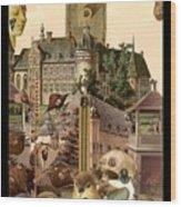 Imaginary Postcard  3 Wood Print
