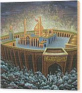 Imams Hussain  Wood Print