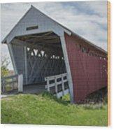 Imes Covered Bridge 2 Wood Print