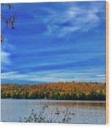 Img_1799.jpg Portage Lake Maine Wood Print