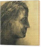 img836 Odilon Redon Wood Print