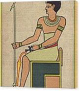 Imhotep, Egyptian Polymath Wood Print