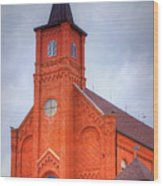 Immaculate Conception Catholic Church Wood Print