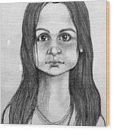 Immigrant Girl Wood Print