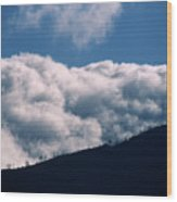 Imminent Judgment - San Rafael Mountains Wood Print