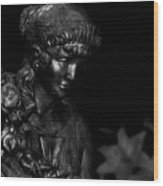 Immortal Maiden Wood Print