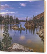 Imogene Lake Wood Print
