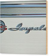 Impala Super Sport Wood Print