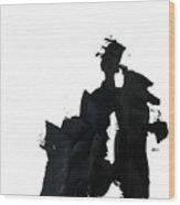 Impasto 1 Wood Print