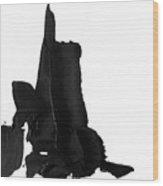 Impasto 2 Wood Print