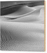 Imperial Dunes 530 Wood Print