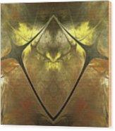 Imperial Topaz Wood Print