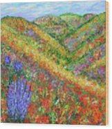 Impressionism- Flowers- Dreaming Of Spring Wood Print