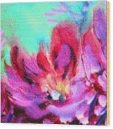 Impressionism Flowers Wood Print