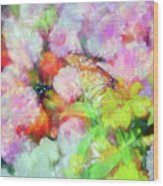 Impressionist Floral Xxxi Wood Print
