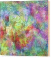 Impressionist Floral Xxxii Wood Print