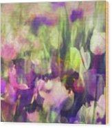 Impressionist Floral Xxxvi Wood Print