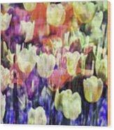 Impressionist Floral Xxxvii Wood Print