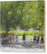 Impressionist Series #2 Wood Print