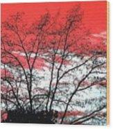 Impressions 6 Wood Print