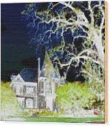 Impressions 9 Wood Print