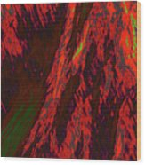 Impressions Of A Burning Forest 10 Wood Print