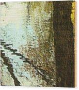 Impressions Of A Ny Fall Wood Print