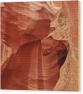 Impressions Of Antelope Canyon 1 Wood Print