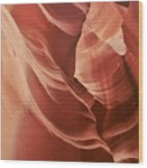 Impressions Of Antelope Canyon 2 Wood Print