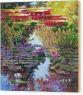 Impressions Of Summer Colors Wood Print