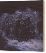 In A Bahian Waterfall Wood Print