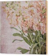 In A Vase #2 Wood Print