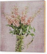 In A Vase Wood Print