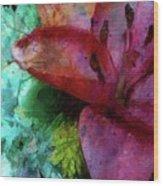 In Bloom Wood Print