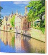 In Bruges Wood Print