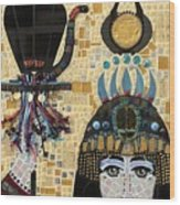 In Dreams Of Ricky Bobbie And Me In Egypt Wood Print