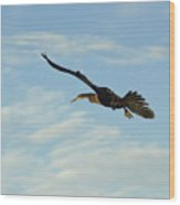 In Flight Wood Print